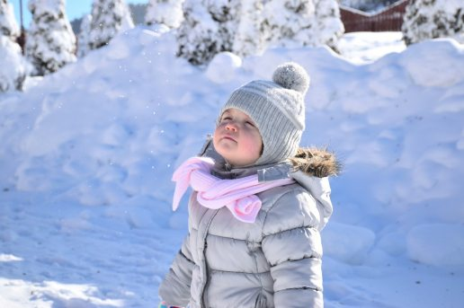 winter toddler